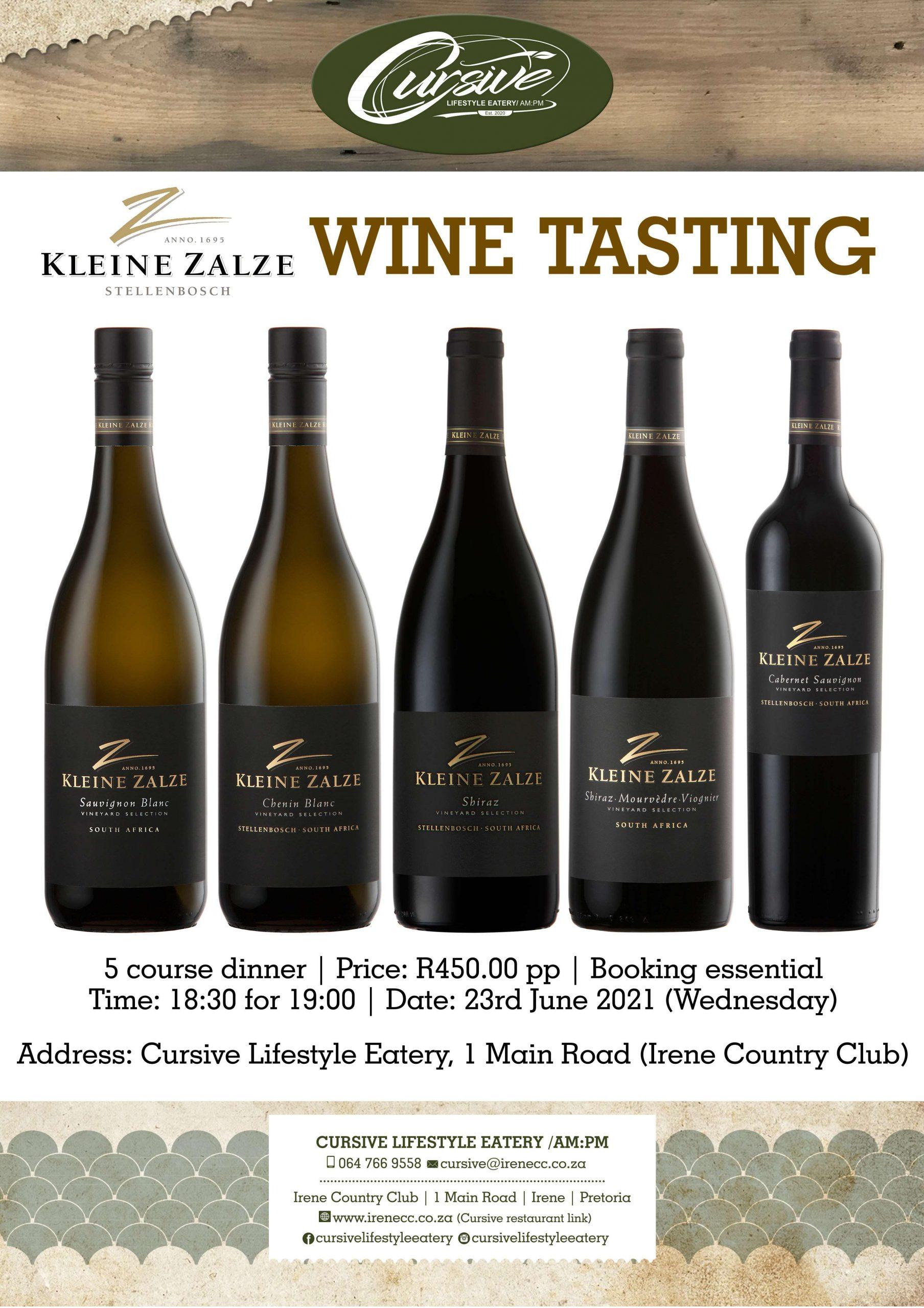 58 Kleine Zalze Wine Tasting poster-page-001